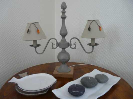 Lampe double applique